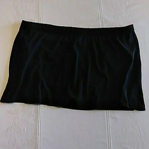 Black swim skirt only sz 22W